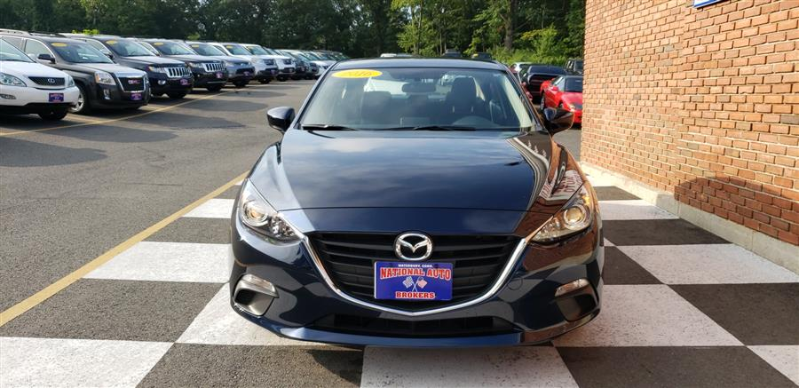 2016 Mazda Mazda3 4dr Sdn Auto i Sport, available for sale in Waterbury, Connecticut   National Auto Brokers, Inc.. Waterbury, Connecticut