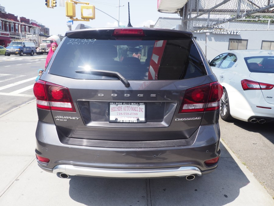 2017 Dodge Journey Crossroad Plus AWD, available for sale in Jamaica, New York   Hillside Auto Mall Inc.. Jamaica, New York