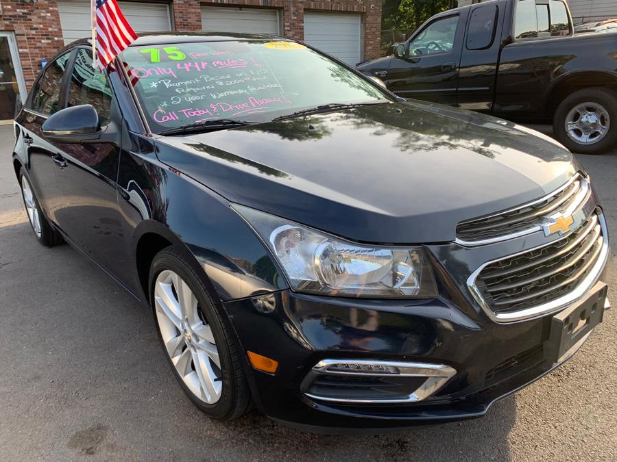 2015 Chevrolet Cruze 4dr Sdn Auto 1LT, available for sale in New Britain, Connecticut | Central Auto Sales & Service. New Britain, Connecticut
