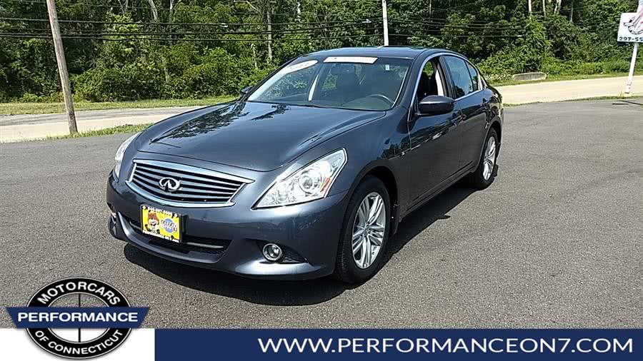 Used 2011 INFINITI G37 Sedan in Wilton, Connecticut | Performance Motor Cars. Wilton, Connecticut