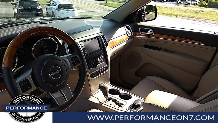 Used Jeep Grand Cherokee 4WD 4dr Overland 2013 | Performance Motor Cars. Wilton, Connecticut
