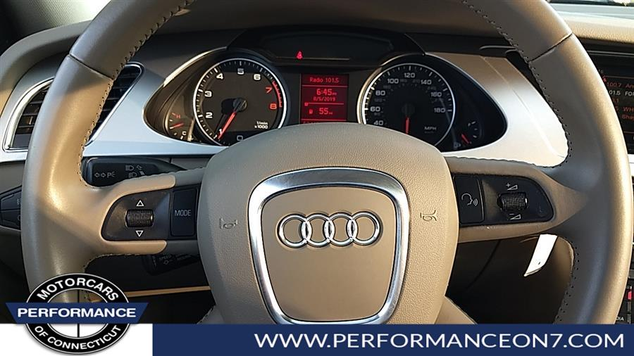 2009 Audi A4 4dr Sdn Auto 2.0T quattro Prem Plus, available for sale in Wilton, Connecticut | Performance Motor Cars. Wilton, Connecticut