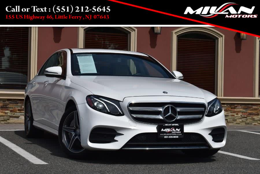 Used Mercedes-Benz E-Class E 300 Sport 4MATIC Sedan 2017 | Milan Motors. Little Ferry , New Jersey