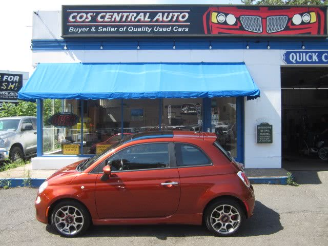 Used 2013 FIAT 500 in Meriden, Connecticut | Cos Central Auto. Meriden, Connecticut