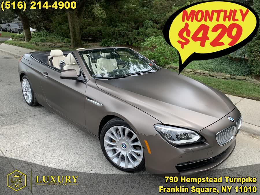 2015 BMW 6 Series 2dr Conv 650i, available for sale in Franklin Square, NY