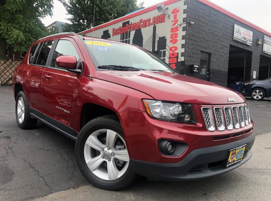 2016 Jeep Compass 4WD 4dr High Altitude Edition, available for sale in Chelsea, Massachusetts | Boston Prime Cars Inc. Chelsea, Massachusetts