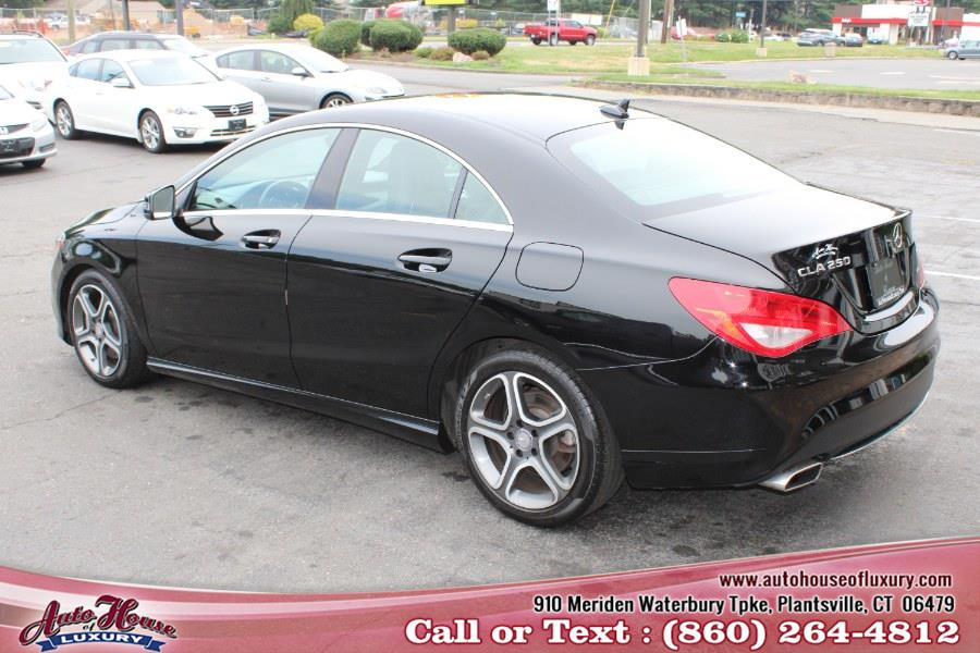 2014 Mercedes-Benz CLA-Class 4dr Sdn CLA250 4MATIC, available for sale in Plantsville, Connecticut | Auto House of Luxury. Plantsville, Connecticut
