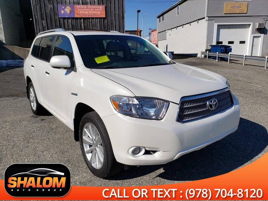 2010 Toyota Highlander Hybrid 4WD 4dr Limited, available for sale in South Lawrence, Massachusetts   Shalom Auto Group LLC. South Lawrence, Massachusetts