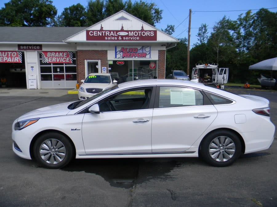Used 2016 Hyundai Sonata Hybrid in Southborough, Massachusetts | M&M Vehicles Inc dba Central Motors. Southborough, Massachusetts