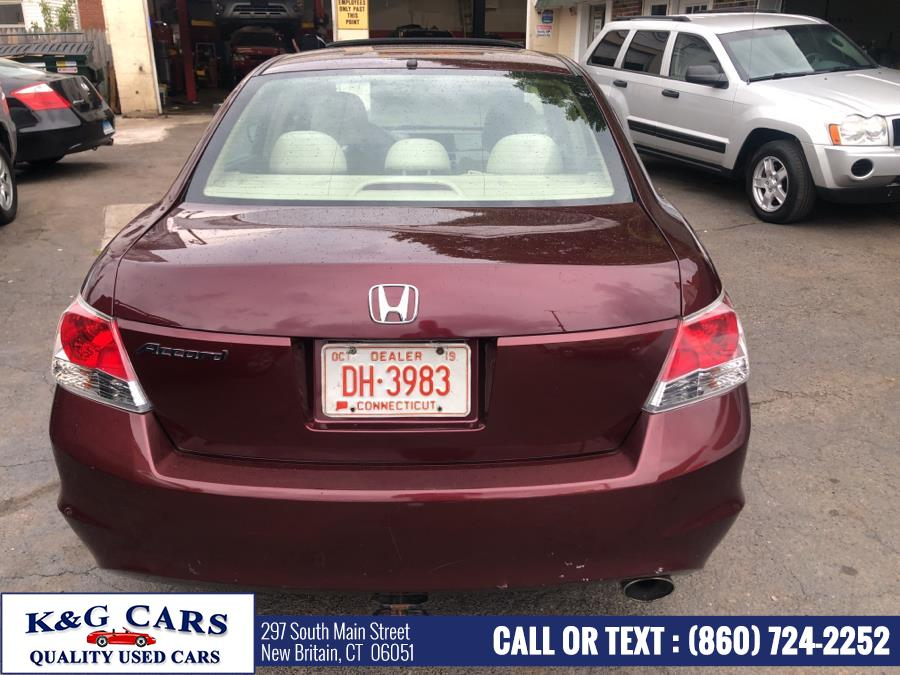 Used Honda Accord Sdn 4dr I4 Auto EX 2008 | K and G Cars . New Britain, Connecticut