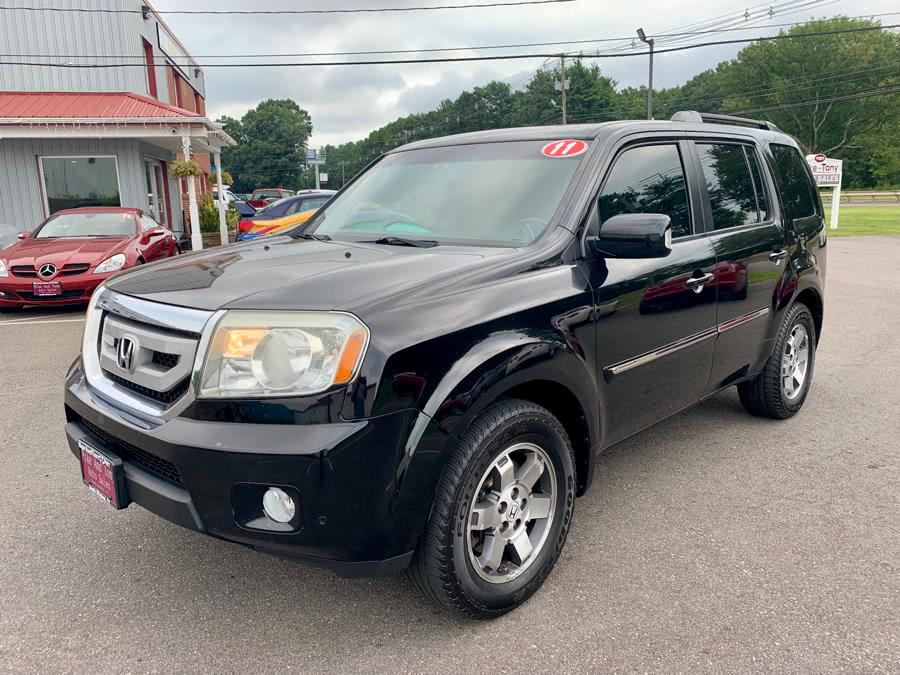 2011 Honda Pilot 4WD 4dr Touring w/RES & Navi, available for sale in South Windsor, Connecticut | Mike And Tony Auto Sales, Inc. South Windsor, Connecticut