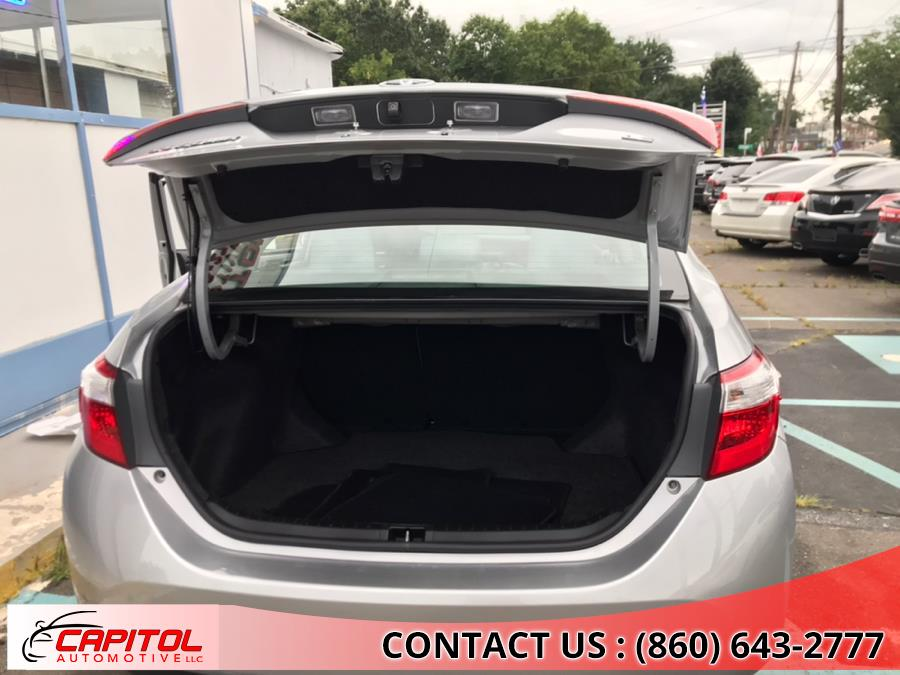 2014 Toyota Corolla 4dr Sdn CVT LE (Natl), available for sale in Manchester, Connecticut | Capitol Automotive 2 LLC. Manchester, Connecticut