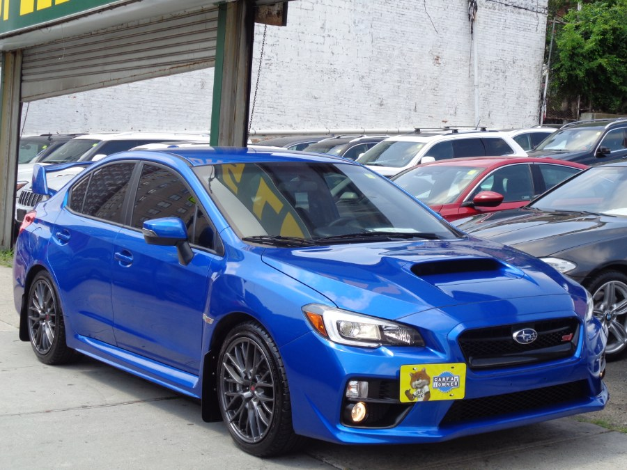 Used Subaru WRX STI AWD Manual Technology Package Navigation Camera Harman Kardon Satellite BSM Sti 2017 | Top Speed Motors LLC. Jamaica, New York