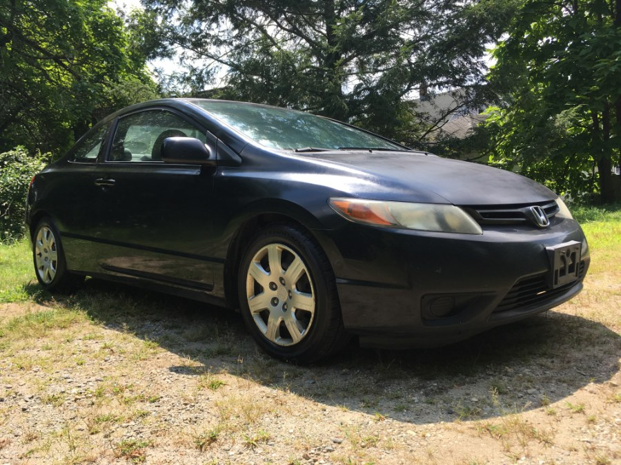 2007 Honda Civic Cpe 2dr AT LX, available for sale in Norwich, Connecticut | Elite Auto Brokers LLC. Norwich, Connecticut