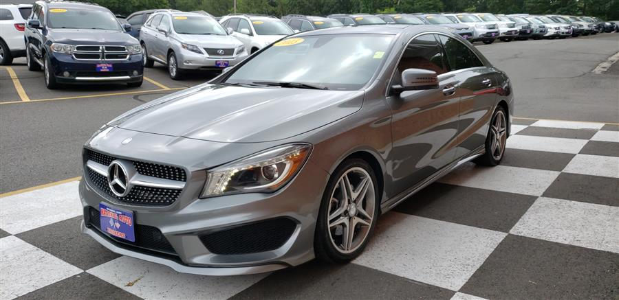 Used Mercedes-Benz CLA-Class 4dr Sdn CLA 250 4MATIC 2015 | National Auto Brokers, Inc.. Waterbury, Connecticut