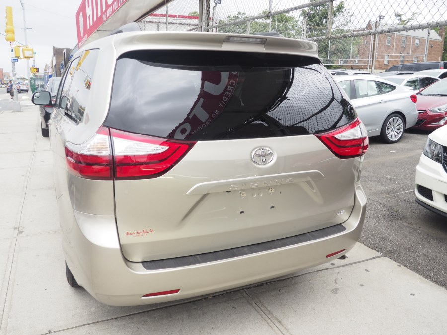 2015 Toyota Sienna 5dr 8-Pass Van LE FWD (Natl), available for sale in Jamaica, New York | Hillside Auto Mall Inc.. Jamaica, New York