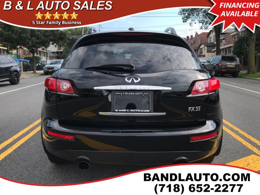 2006 Infiniti FX35 4dr AWD, available for sale in Bronx, New York | B & L Auto Sales LLC. Bronx, New York