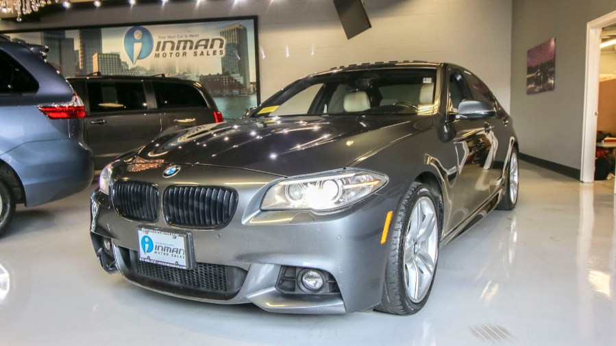 2015 BMW 5 Series 4dr Sdn 535i xDrive AWD, available for sale in Medford, Massachusetts | Inman Motors Sales. Medford, Massachusetts