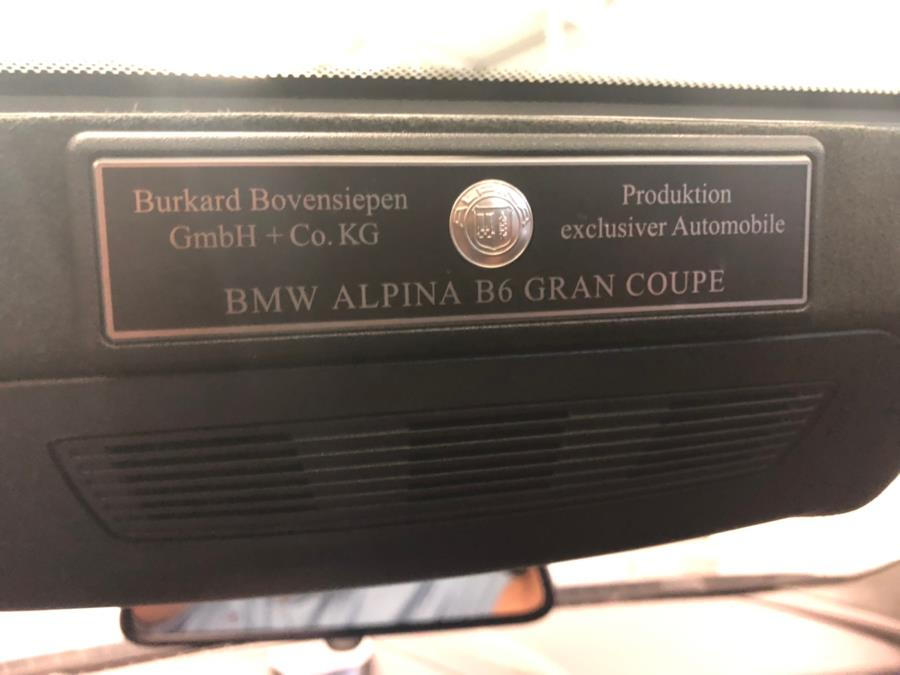 2016 BMW 6 Series 4dr Sdn ALPINA B6 xDrive AWD Gran Coupe, available for sale in Bridgeport, Connecticut | CT Auto. Bridgeport, Connecticut