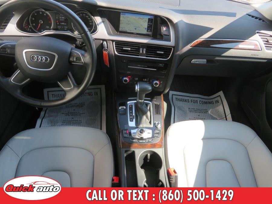 2015 Audi A4 4dr Sdn Auto quattro 2.0T Premium, available for sale in Bristol, Connecticut | Quick Auto LLC. Bristol, Connecticut