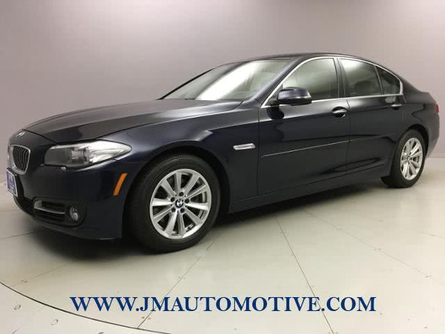 Used 2016 BMW 5 Series in Naugatuck, Connecticut | J&M Automotive Sls&Svc LLC. Naugatuck, Connecticut