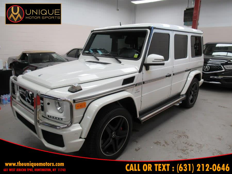 Used Mercedes-Benz G-Class 4MATIC 4dr G 63 AMG 2013 | Unique Motor Sports. Huntington, New York