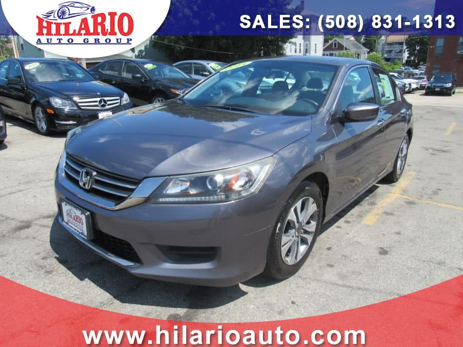 Used 2013 Honda Accord Sdn in Worcester, Massachusetts | Hilario's Auto Sales Inc.. Worcester, Massachusetts