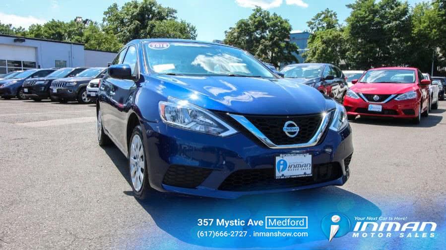 Used 2018 Nissan Sentra in Medford, Massachusetts   Inman Motors Sales. Medford, Massachusetts