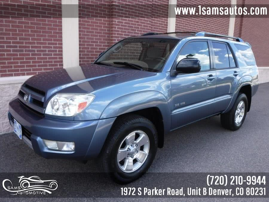 Used 2004 Toyota 4Runner in Denver, Colorado | Sam's Automotive. Denver, Colorado