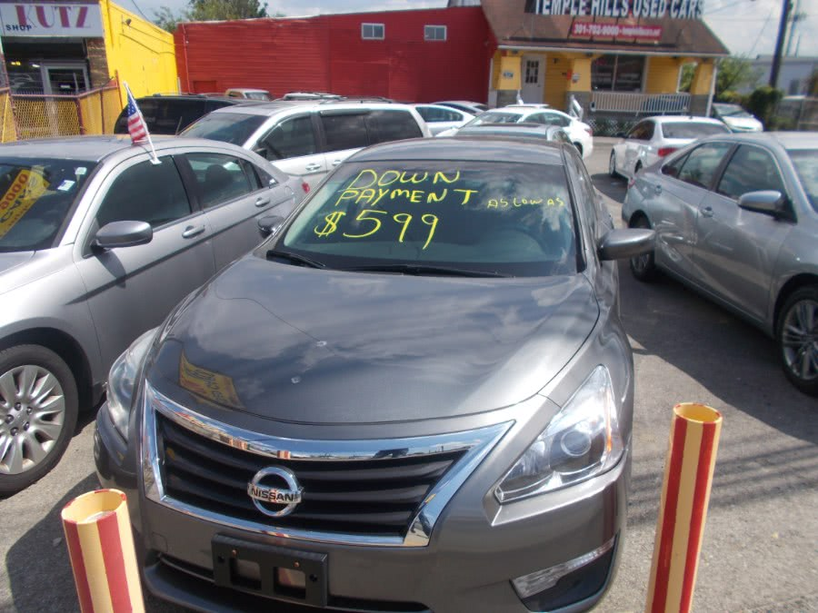 2015 Nissan Altima 4dr Sdn I4 2.5 S, available for sale in Temple Hills, MD