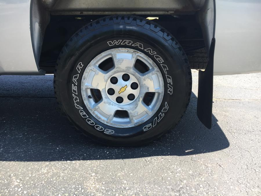 2012 Chevrolet Silverado 1500 4WD Ext Cab 143.5
