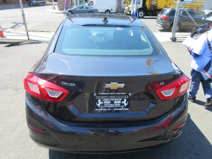 2017 Chevrolet Cruze 4dr Sdn 1.4L LT w/1SD, available for sale in Irvington, New Jersey   Foreign Auto Imports. Irvington, New Jersey