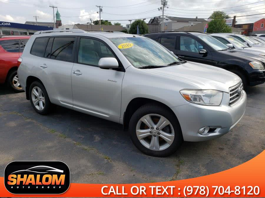 2010 Toyota Highlander Limited 4-Door 4WD SUV., available for sale in South Lawrence, Massachusetts | Shalom Auto Group LLC. South Lawrence, Massachusetts
