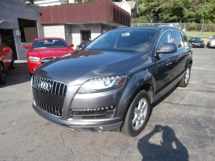 2013 Audi Q7 quattro 4dr 3.0T Premium Plus, available for sale in Waterbury, Connecticut | Jim Juliani Motors. Waterbury, Connecticut