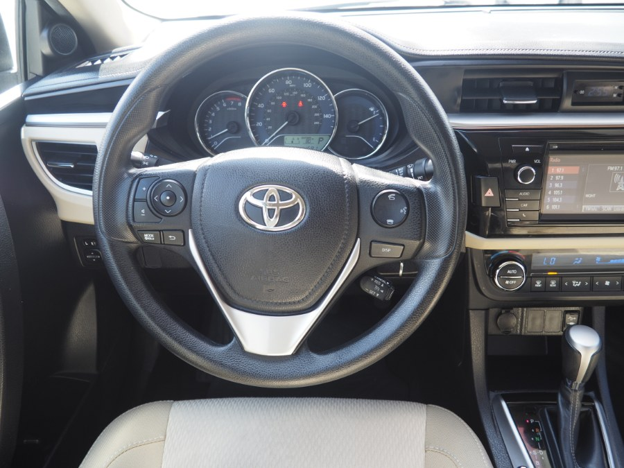 2015 Toyota Corolla 4dr Sdn CVT LE ECO (Natl), available for sale in Jamaica, New York   Hillside Auto Mall Inc.. Jamaica, New York
