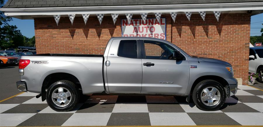 2008 Toyota Tundra 4WD Truck Double Cab 5.7L AT SR5, available for sale in Waterbury, Connecticut | National Auto Brokers, Inc.. Waterbury, Connecticut