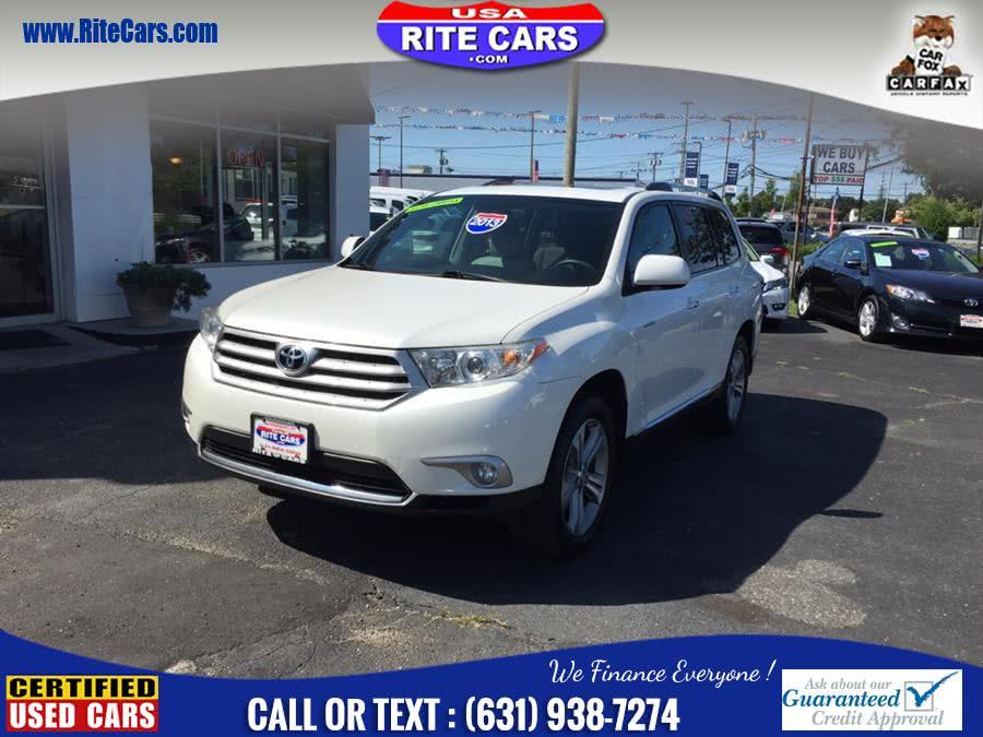 Used 2013 Toyota Highlander in Lindenhurst, New York | Rite Cars, Inc. Lindenhurst, New York