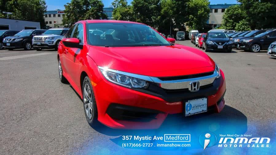 Used 2017 Honda Civic Sedan in Medford, Massachusetts   Inman Motors Sales. Medford, Massachusetts