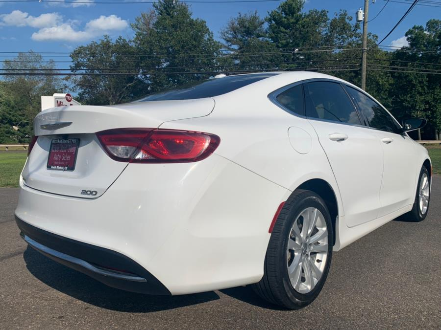 2015 Chrysler 200 4dr Sdn Limited FWD, available for sale in South Windsor, Connecticut | Mike And Tony Auto Sales, Inc. South Windsor, Connecticut