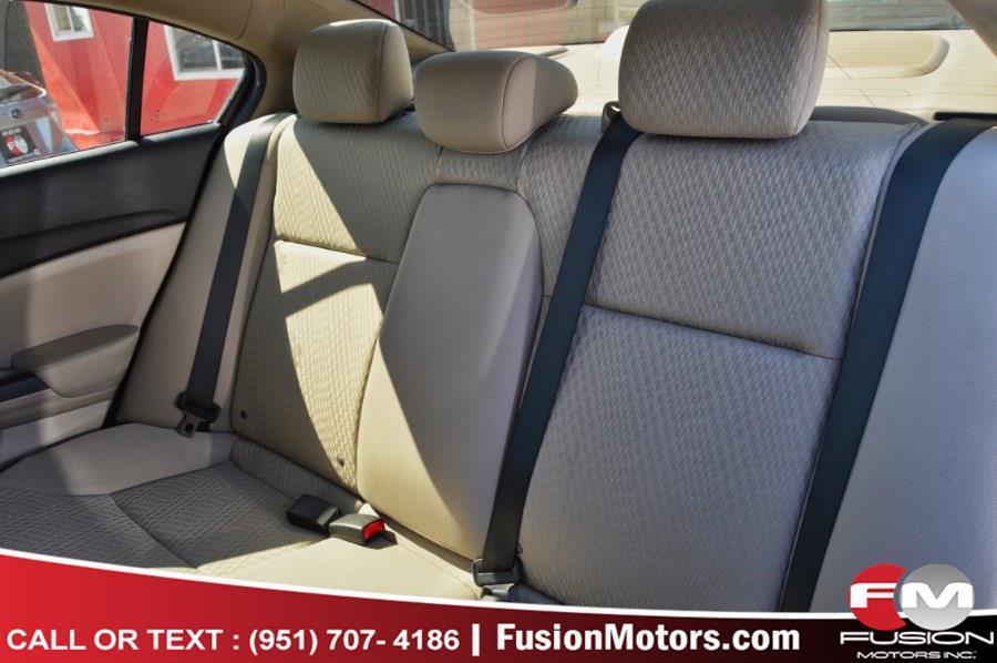 Used Honda Civic Sedan 4dr CVT LX 2015 | Fusion Motors Inc. Moreno Valley, California