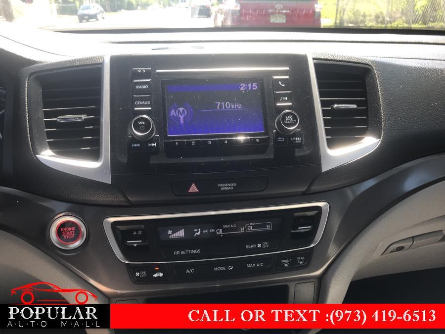 Used Honda Pilot AWD 4dr LX 2016 | Popular Auto Mall Inc . Newark , New Jersey
