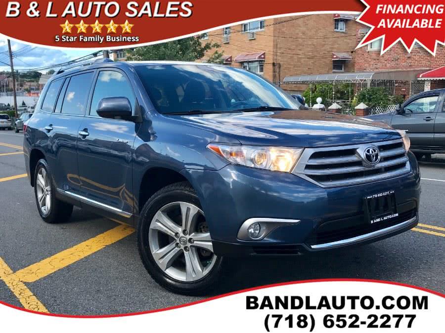 Used 2013 Toyota Highlander in Bronx, New York | B & L Auto Sales LLC. Bronx, New York