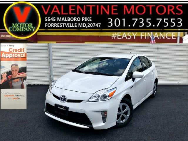 2013 Toyota Prius Five, available for sale in Forestville, Maryland | Valentine Motor Company. Forestville, Maryland