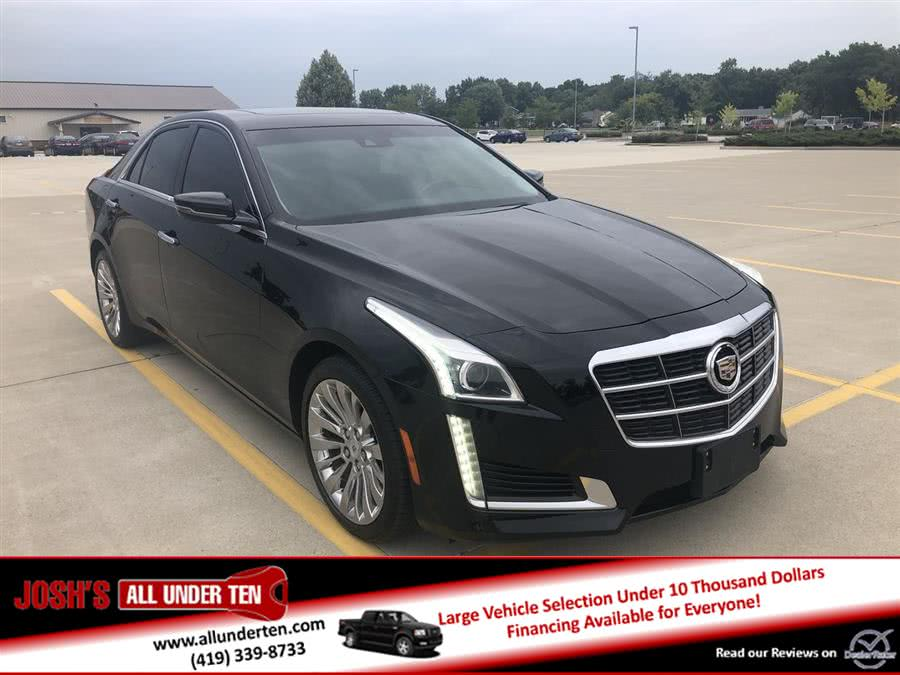 Used Cadillac CTS Sedan 4dr Sdn 2.0L Turbo Luxury AWD 2014 | Josh's All Under Ten LLC. Elida, Ohio