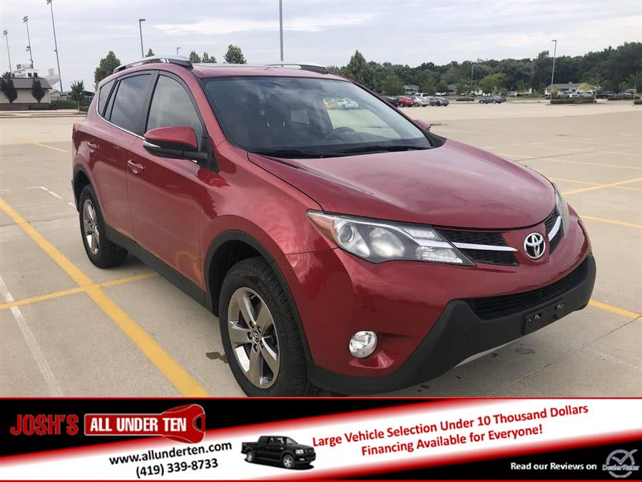 Used Toyota RAV4 AWD 4dr XLE (Natl) 2015 | Josh's All Under Ten LLC. Elida, Ohio