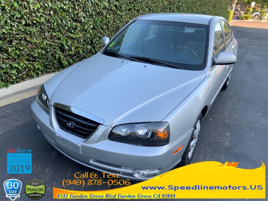 Used Hyundai Elantra 4dr Sdn GLS Auto 2005 | Speedline Motors. Garden Grove, California