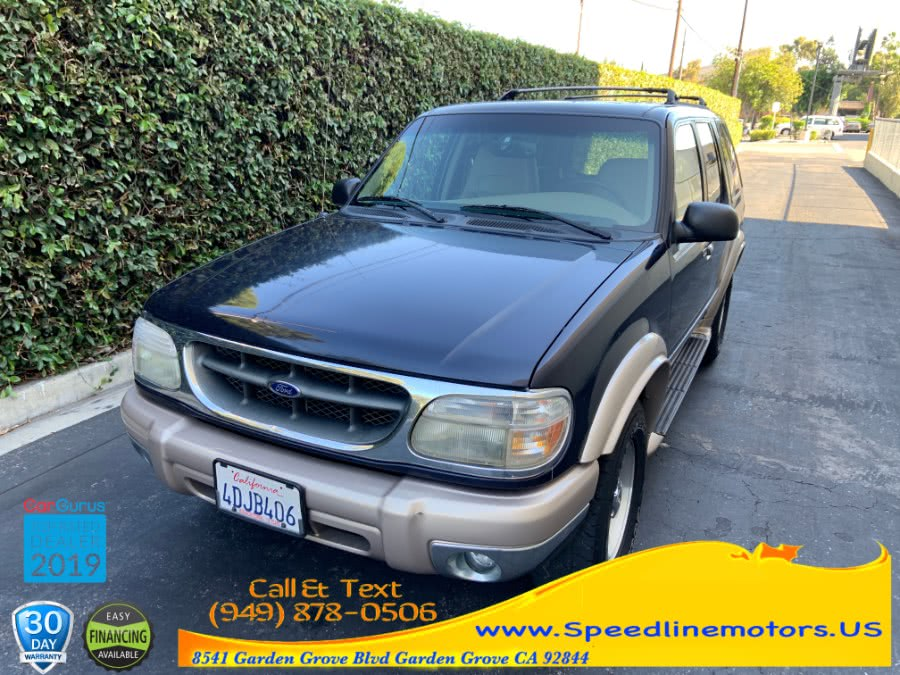 Used 1999 Ford Explorer in Garden Grove, California   Speedline Motors. Garden Grove, California