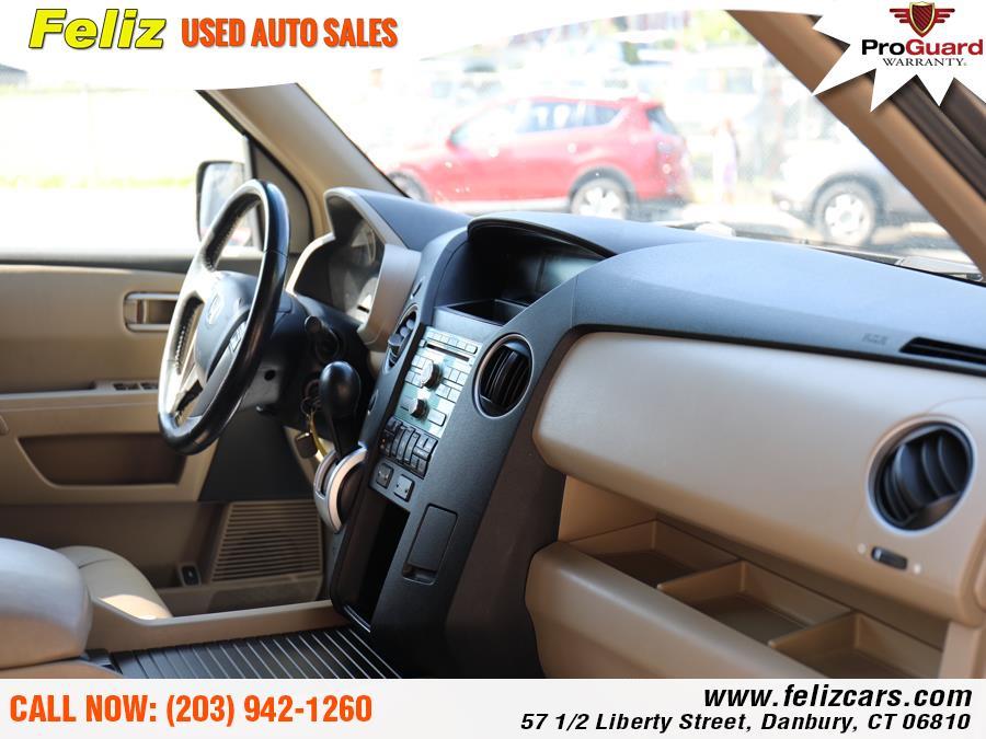 2009 Honda Pilot 4WD 4dr EX-L, available for sale in Danbury, Connecticut | Feliz Used Auto Sales. Danbury, Connecticut