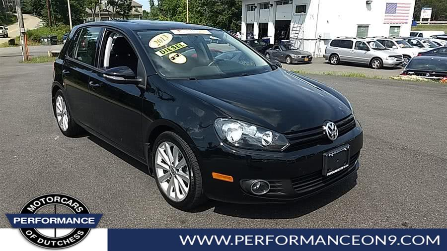 Used Volkswagen Golf 4dr HB DSG TDI w/Sunroof & Nav 2013 | Performance Motorcars Inc. Wappingers Falls, New York