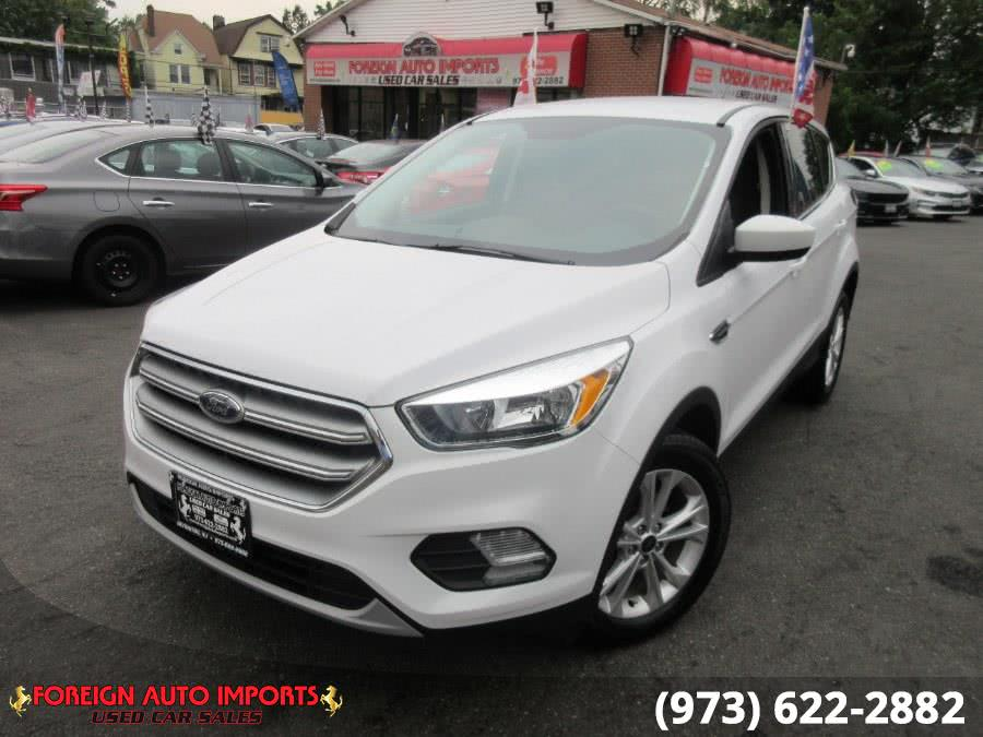 Used Ford Escape SE FWD 2017 | Foreign Auto Imports. Irvington, New Jersey